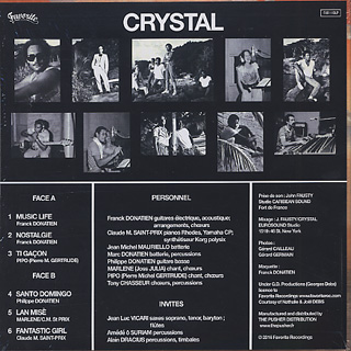 Crystal / Music Life back