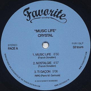 Crystal / Music Life label