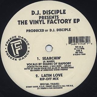 D.J. Disciple / The Vinyl Factory EP