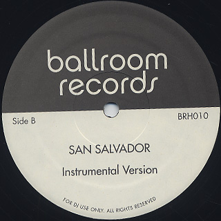 David Benoit / Life Like A Samba c/w Azoto / San Salvador back