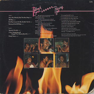Fatback Band / Raising Hell back