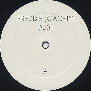 Freddie Joachim / Dust (Extended Edition) label