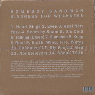 Homeboy Sandman / Kindness For Weakness back