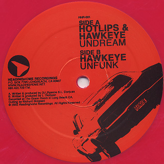 Hotlips & Hawkeye / Undream c/w Unfunk