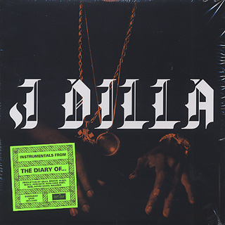 J Dilla / The Diary (Instrumentals) front