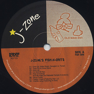 J-Zone / Fish-N-Grits label