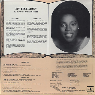 Juanita Parker-Scott / My Testimony back