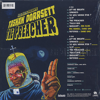 Kool Keith Presents Tashan Dorresett / The Preacher back