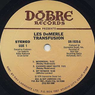 Les DeMerle / Transfusion label