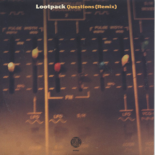 Lootpack / Questions (Remix) c/w On Point back