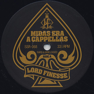 Lord Finesse / Midas Era A Cappellas back