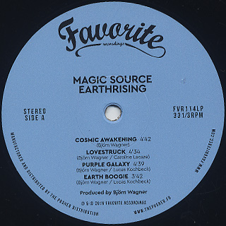 Magic Source / Earthrising label