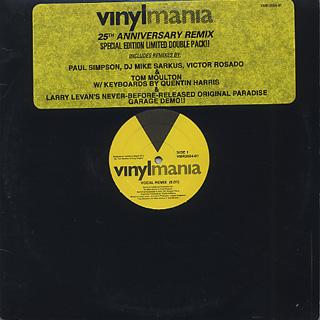 Man Friday / Love Honey, Love Heartache (25th Anniversary Remix)