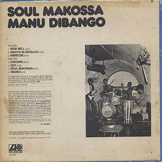 Manu Dibango / Soul Makossa back