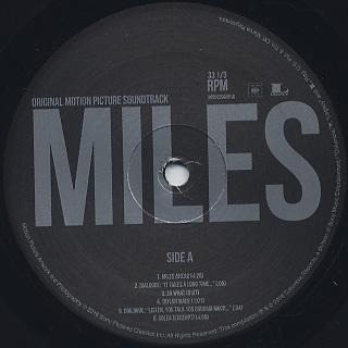 Miles Davis / Miles Ahead (Original Motion Picture Soundtrack) label