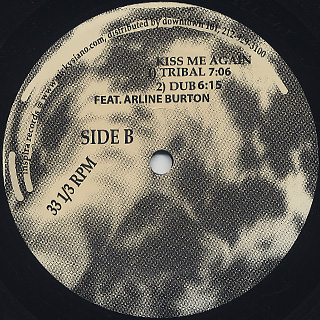 Nicky Siano / Kiss Me Again label