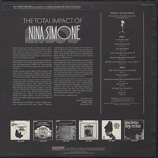 Nina Simone / The Best Of Nina Simone back