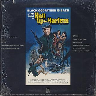 O.S.T.(Edwin Starr) / Hell Up In Harlem back
