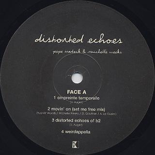 Pepe Bradock & Michelle Weeks / Distorted Echoes label