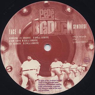 Pepe Bradock / Synthèse label
