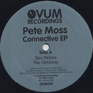 Pete Moss / Connective EP back