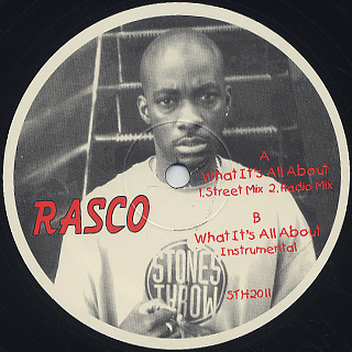 Rasco / What It's All About label