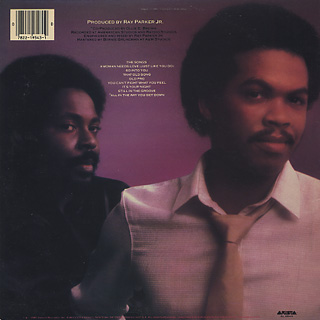 Ray Parker Jr. And Raydio / A Woman Needs Love back
