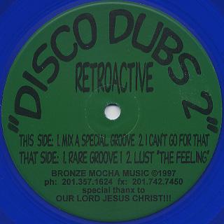 Retroactive / Disco Dubs 2