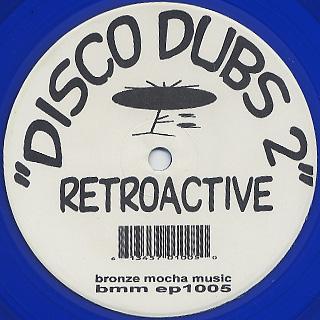 Retroactive / Disco Dubs 2 back