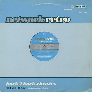 Rhythim Is Rhythim / Reese & Santonio / Network Retro #1 - Back 2 Back Classics