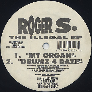 Roger S. / The Illegal EP label