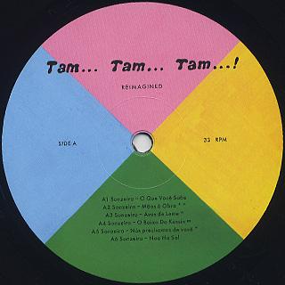 Sonzeira / Tam... Tam... Tam...! Reimagined label
