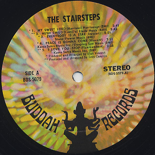 Stairsteps / S.T. label
