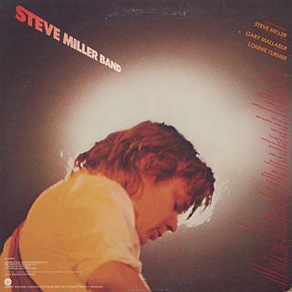 Steve Miller Band / Fly Like An Eagle back