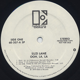 Suzi Lane / Ooh La La label