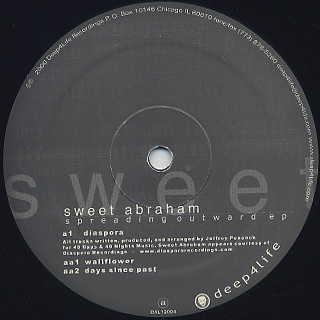 Sweet Abraham / Spreading Outward EP