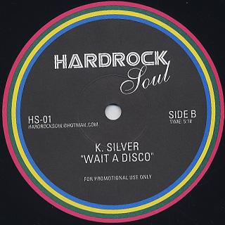 T. Coakley / Doin' The Do - K. Silver / Wait A Disco back