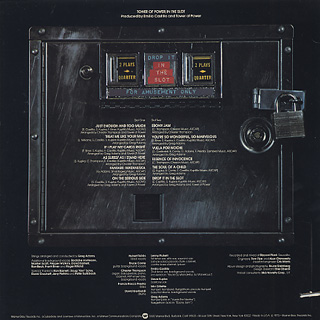 Tower Of Power / In The Slot back