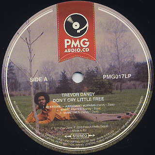 Trevor Dandy / Don't Cry Little Tree label