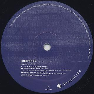 Utterance / Grant Me Utterance