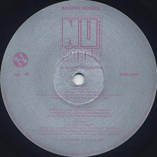 V.A. / Nu Groove Secret Code A Second Compilation label