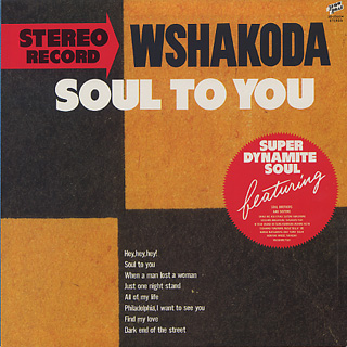 Wshakoda / Soul To You