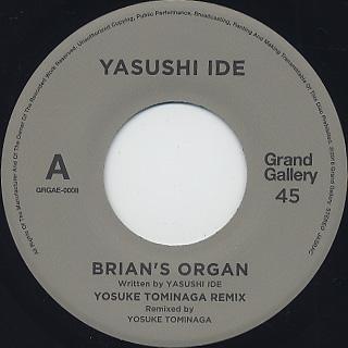 Yasushi Ide / Brian's Organ back
