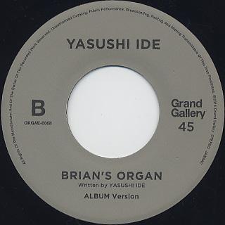 Yasushi Ide / Brian's Organ label