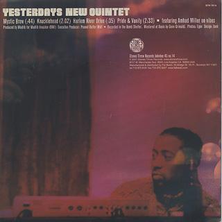 Yesterdays New Quintet / The Bomb Shelter EP back