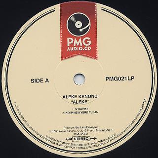 Aleke Kanonu / Aleke label