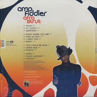 Amp Fiddler / Afro Strut back