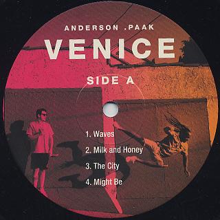 Anderson .Paak / Venice (2LP) label