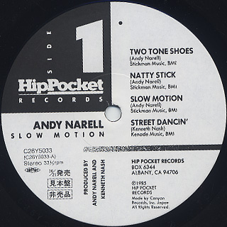 Andy Narrell / Slow Motion label