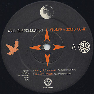 Asian Dub Foundation / Change A Gonna Come front